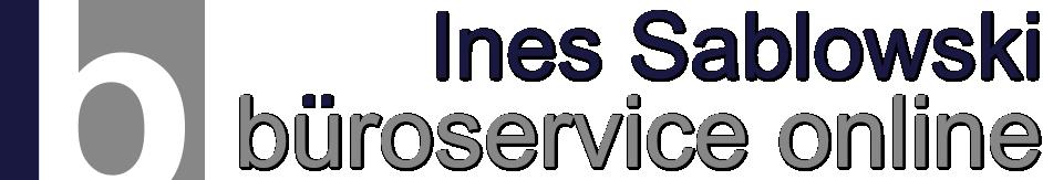 Ines Sablowski Büroservice Online
